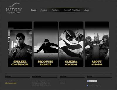 site web de snowboard