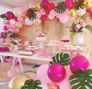 Flamingo--Party-Balloon