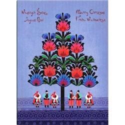 Polish Art Center Polish Folk Christmas Card
