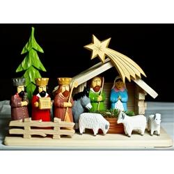 Polish Art Center Polish Hand Painted Nativity Set 16