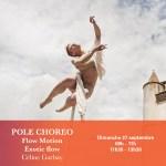 27/09 : POLE CHOREO AVEC CÉLINE GARBAY