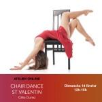 14/02 : Atelier online Chair Dance St Valentin