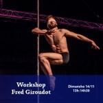 14/11 : Workshop Fred Giroudot : ses combos signature !