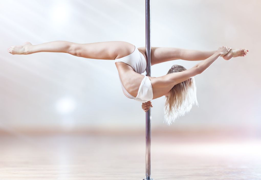 Exercise with Pole dancing classes