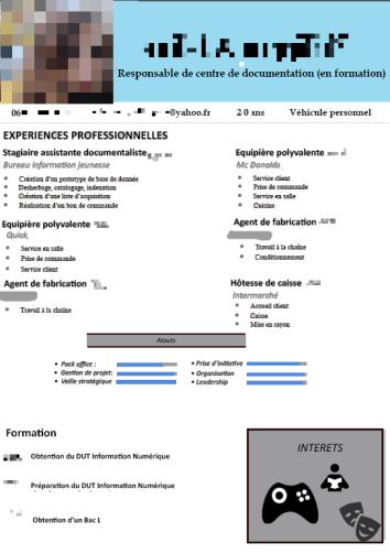cv aurelie - infonum