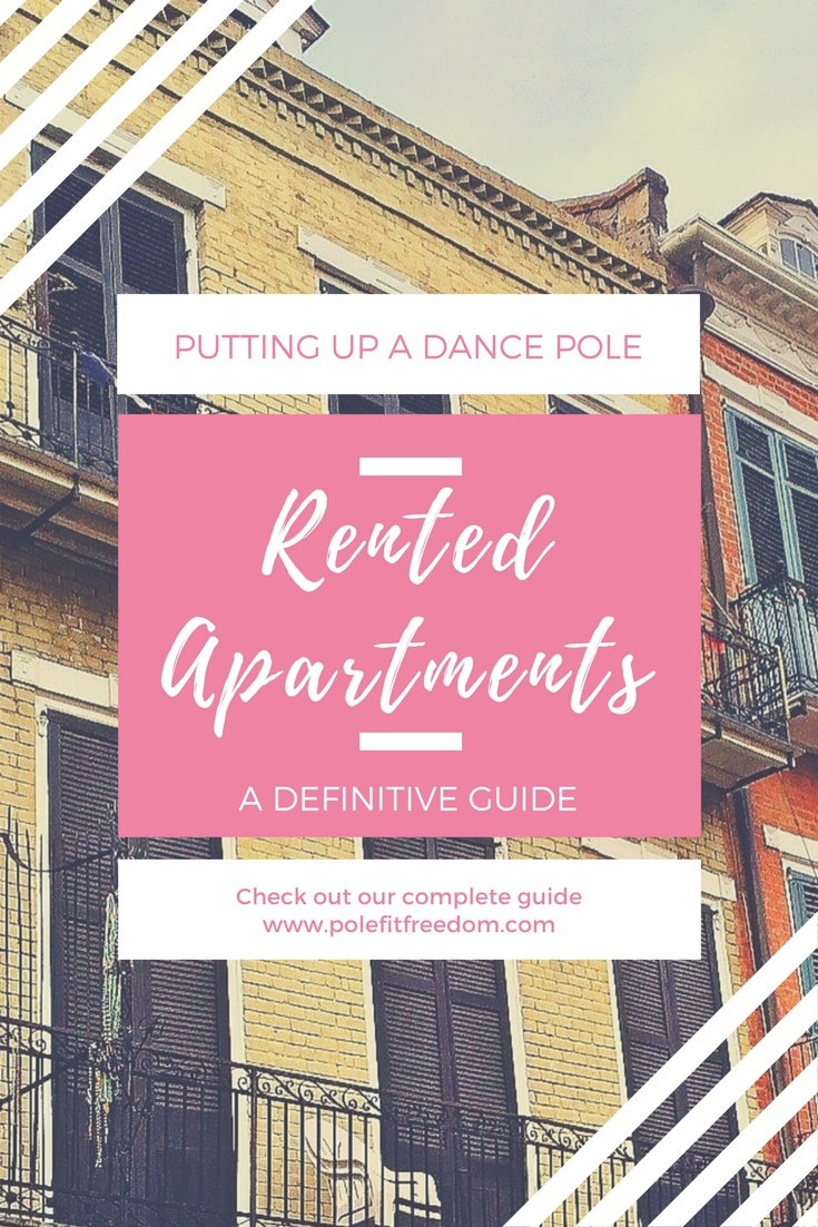 All of your questions answered about portable dance poles and renting apartments or houses. Worried about damaged popcorn ceilings? We've got you covered!