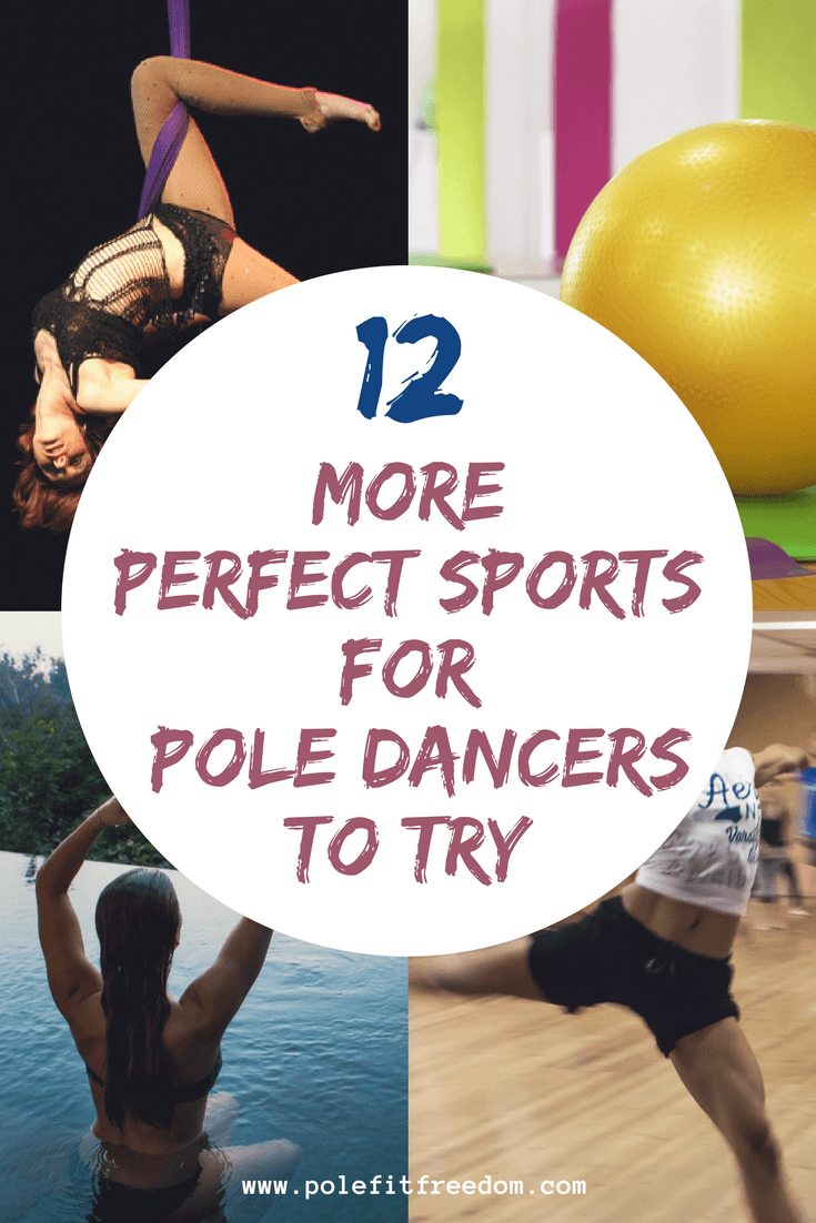 12 other sports for pole dancers to try, pole dancing inspiation, workout motivation