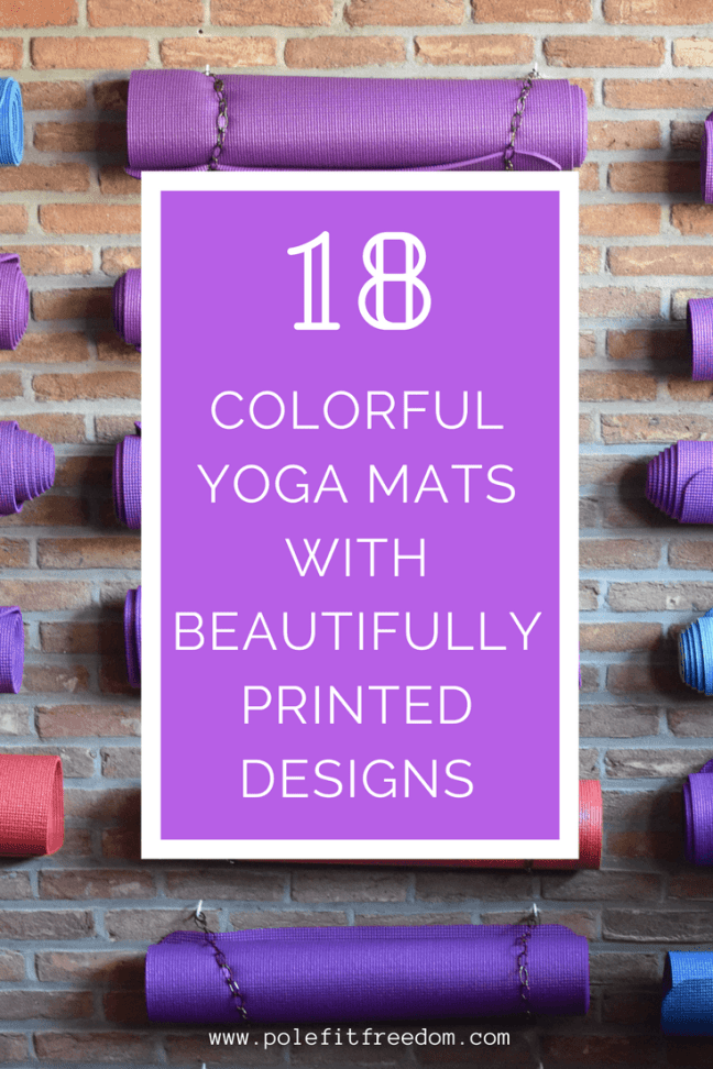 18 Colorfully Printed Yoga Mats With Beautiful Designs  8f7672b56ed9