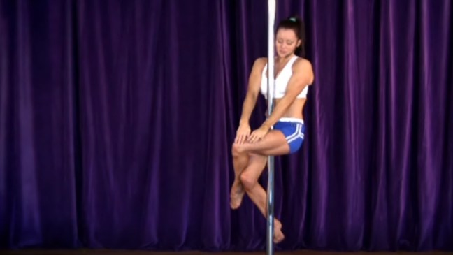 Sitting on the Pole - Pole moves for beginners