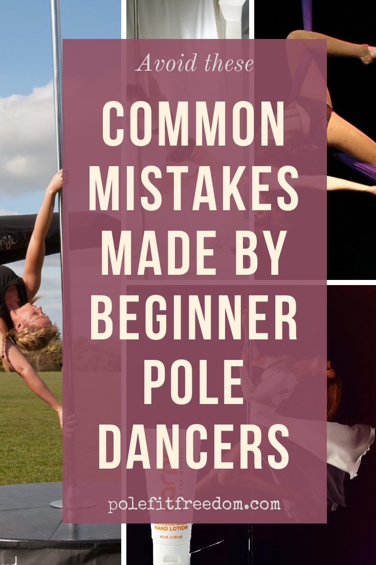 Tips for beginner pole dancers - avoid these common mistakes