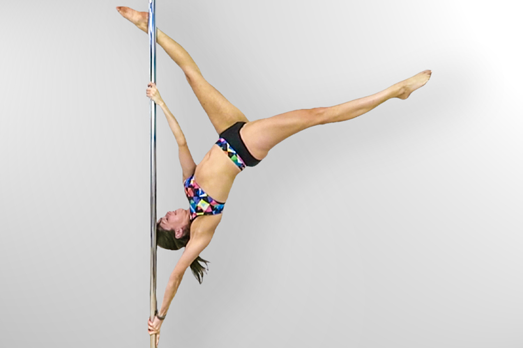 Extended Butterfly Pole Move