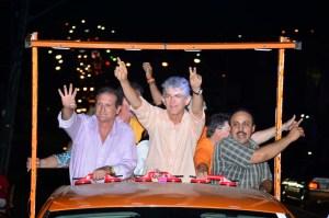 carreata 300x199 - Ricardo encerra campanha em João Pessoa com carreatas