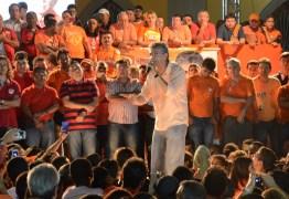 Ricardo, Maranhão, Veneziano e Vital reúnem 15 mil pessoas durante comício em Itabaiana