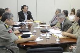 Presidente do TRE reúne forças de segurança para definir ações do segundo turno das eleições