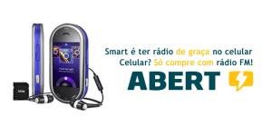 banner ass SITE 300x150 - Abert lança campanha de rádio FM no celular
