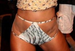 Sabrina Sato usa look polêmico em noite de samba – Veja as fotos