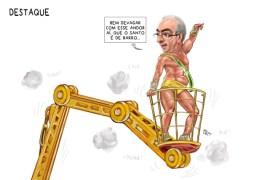 IRONIA: Veja as charges de carnaval que envolvem políticos