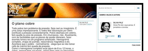 9996d0bf97 MUITO TARDE  Globo tira blog que descia o sarrafo nos pobres ...