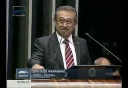 José Maranhão propõe lei que assegura moradia à viúvos de união estável