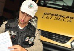 Operação Lei Seca autua 96 condutores por embriaguez durante o mês de março