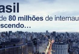 PARAÍBA WEB: Força da Internet na PB supera média nacional; segmento vira fonte primária de informações