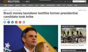 1aecio e1440792968196 300x178 - Jornais de todo o mundo noticiaram que Aécio Neves teria recebido propina