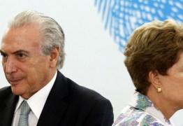 PMDB ABANDONA O BARCO: Temer comunica saída da articulação política