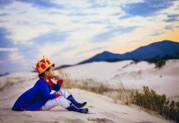 Fotógrafa registra o Pequeno Príncipe negro e brasileiro e cria ensaio mágico