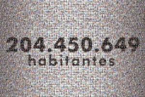 população brasileira