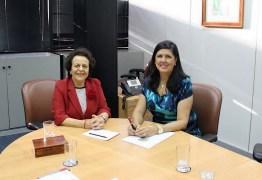 Lígia discute com ministra implantação da Casa da Mulher Brasileira na PB