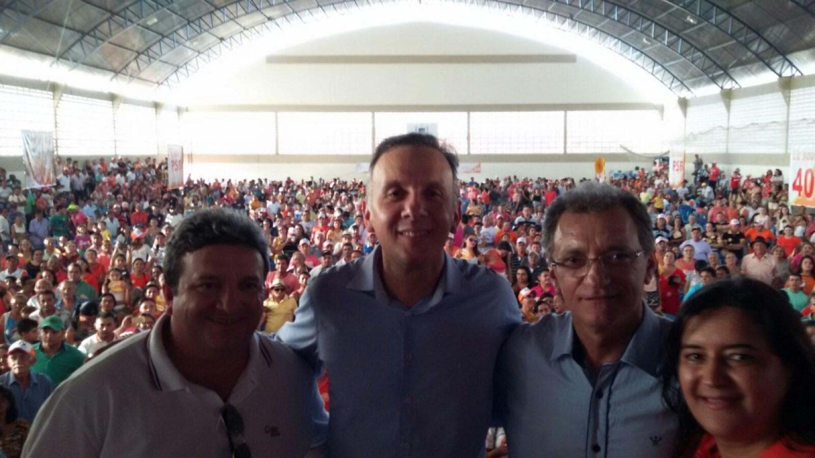 foto4 - Em evento na cidade de São Bento, Aguinaldo Ribeiro e Galego Souza filiam três vereadores ao PP