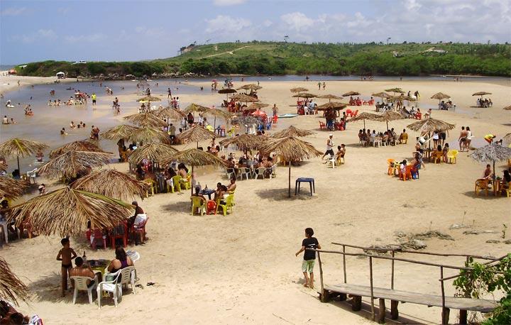 313praiabela - APROVEITAR O CALOR: 52 praias da Paraíba estão próprias para o banho