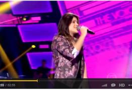 VEJA VÍDEO: Paraibana passa na primeira seleção do The Voice, conheça mais de Sarah Lorena