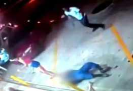 CENA FORTE: Vigilante é morto em posto e tem arma roubada em seguida –  VEJA VÍDEO