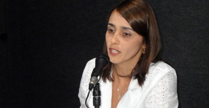 Ana Claudia - Adriano Galdino propõe Ana Cláudia Vital como vice na chapa dos socialistas