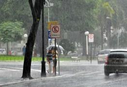 DEFESA CIVIL: Em 24 horas, chove mais de 35 mm em João Pessoa