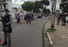 Polícia intensifica ações de segurança com reforço em vários pontos da Capital
