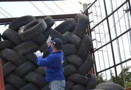 Prefeitura de João Pessoa recolhe mais de 7 mil pneus e faz descarte responsável