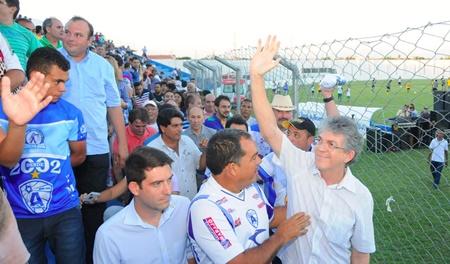 Ricardo almeidão - ÁUDIO - Governador se reúne com CBF para discutir liberação de partidas no Almeidão