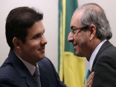 hugo e Cunha - Eduardo Cunha já  estaria articulando para Hugo Motta ser seu sucessor na Câmara