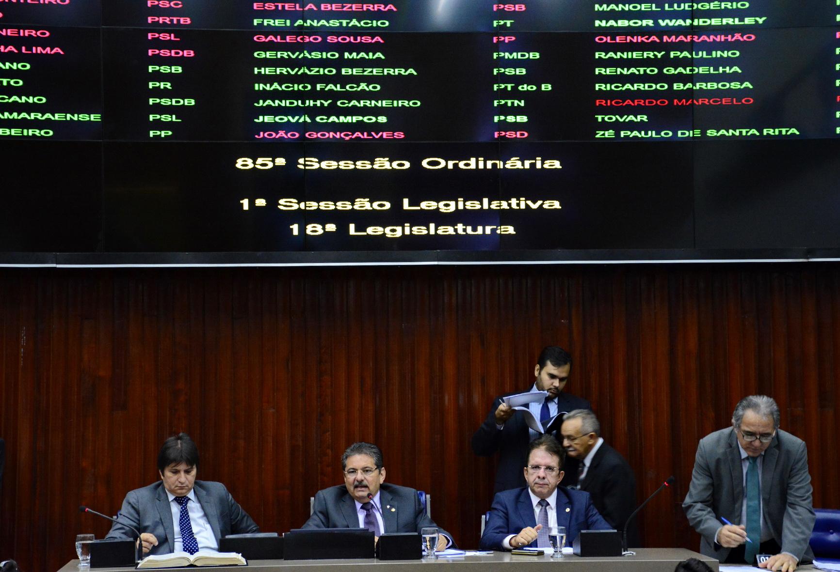 sessão alpb - Assembleia realiza sessão nesta terça e combate ao Aedes ganha destaque