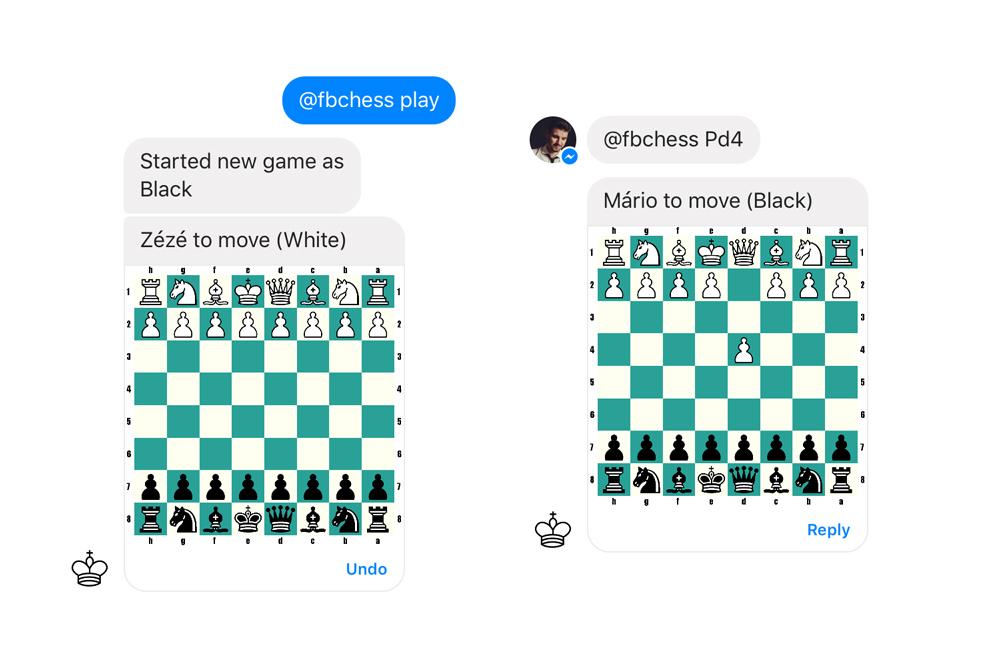 xadrez - Facebook Messenger tem jogo de xadrez secreto; saiba como ativá-lo