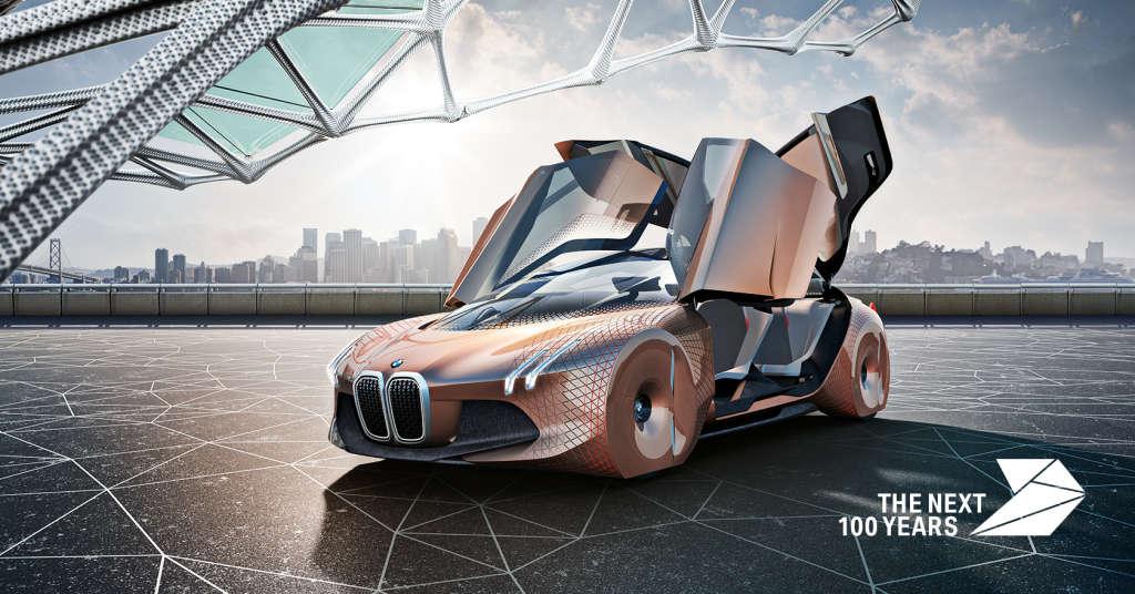 BMW Vision 2 1024x536 - BMW faz 100 anos e lança conceito revolucionário sobre o carro do futuro - VEJA VÍDEO