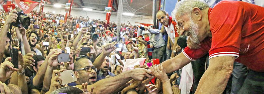 """LULAAAA - O FUTURO É AGORA: """"A direita quer excluir Lula pra fazer o que bem entender do Brasil"""" - Por Emir Sader"""