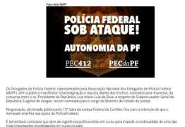 "Delegados da PF condenam ""ingerência"" de novo ministro da Justiça na Lava Jato"