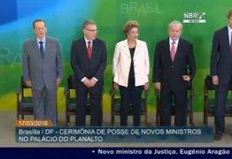 Lula toma posse em cerimônia coletiva no Palácio do Planalto