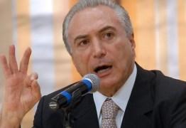 Temer pede ao TSE para apresentar defesa separada da presidente Dilma