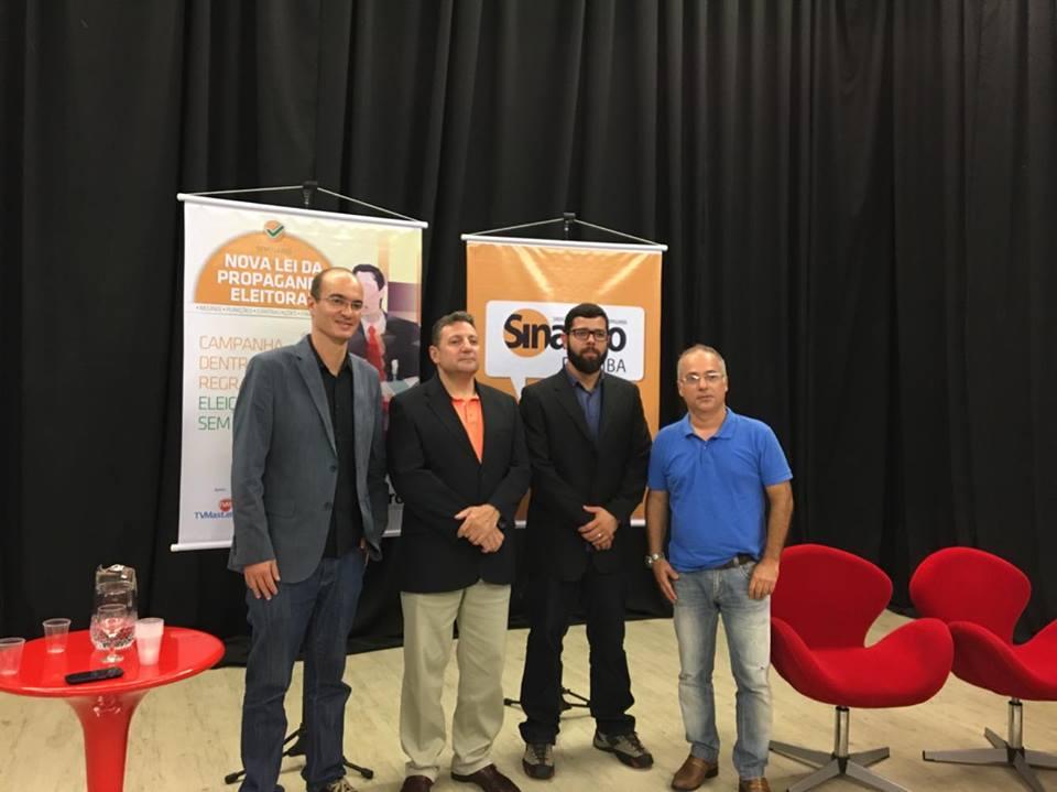 palestra - 'Nova Lei da Propaganda Eleitoral' é tema de seminário em João Pessoa