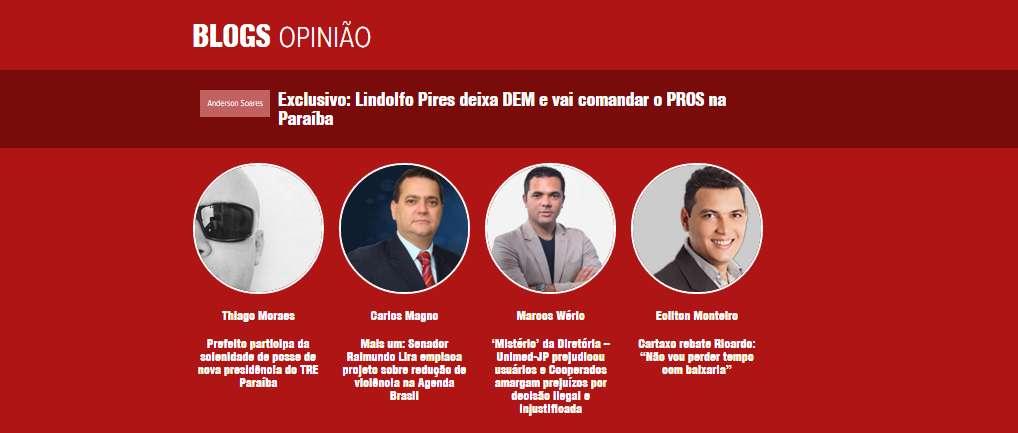 polemica nova - Polêmica Paraíba lança novo layout e apresenta reforços: Thiago Moraes e Carlos Magno comentam participação
