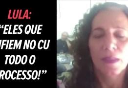 POLÊMICA! Vídeo flagra Lula falando sobre Lava Jato: 'eles que enfiem no c* todo o processo'
